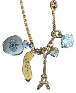 Juicy Couture JUICY COUTURE TRAVELER'S NECKLACE