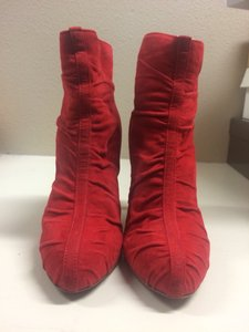 Brian Atwood Red Boots