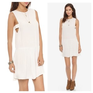 VEDA short dress white on Tradesy