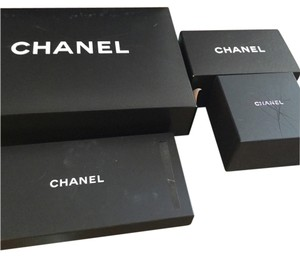 5ac3ee3ef205 Added to Shopping Bag. Chanel Lot Of 4x Various Size Chanel Gift Storage  Boxes.