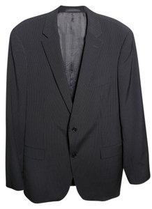 Hugo Boss Pinstripe Mens Navy Blazer