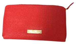 Brooks Brothers Brooks Brothers Red Leather Wallet