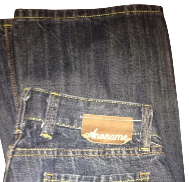 Anoname Boot Cut Jeans-Distressed