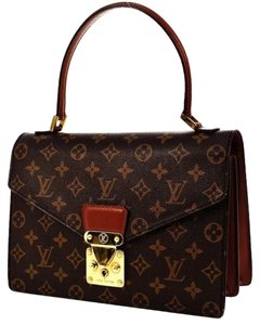 Louis Vuitton Satchel in Browns LV monogram