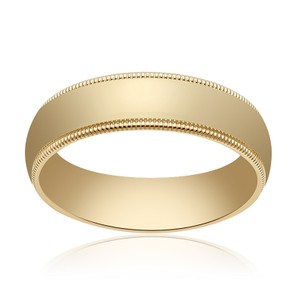 Avital & Co Jewelry 14k Yellow Gold 5.0mm Band Ring