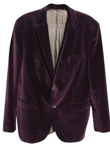 Hugo Boss Velvet Jacket purple Blazer