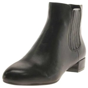 Marc Fisher Leather Leather Bootie Dark Brown Boots