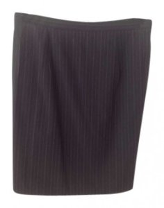 Michael Kors Black pinstripe skirt