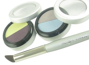 Morgen Schick Cosmetics New Morgen Schick Cosmetics 3pc Eye Shadow Kit Awesome Shades Crease Brush $39