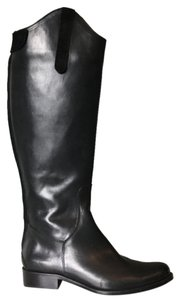 dusica dusica Boot Black Leather Riding Boots
