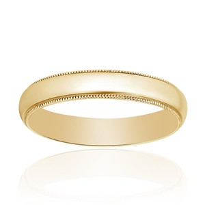 Avital & Co Jewelry 4.0mm 14k Yellow Gold Wedding Band