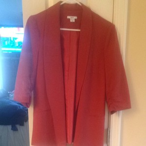 Bar III Burnt Orange Blazer