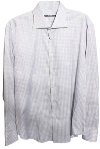 pal zileri Dress Shirt Mens Button Down Shirt Gray