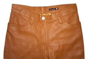 Frankie B Boot Cut Pants tan