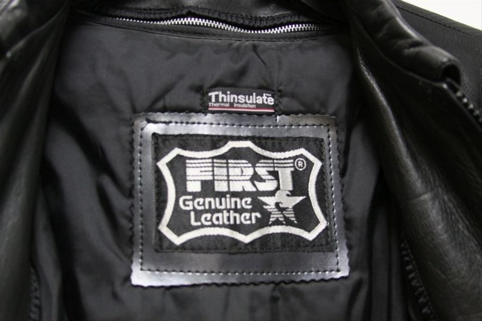 First genuine leather jacket
