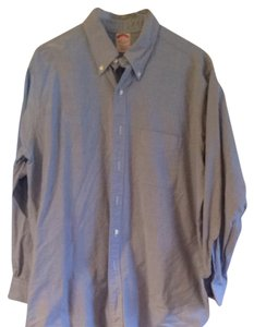 Brooks Brothers Button Down Shirt Blue