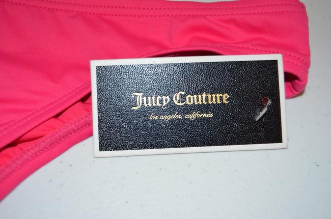 Juicy Couture Juicy Couture Button Flirt Bottom in Pink Berry XL BNWT