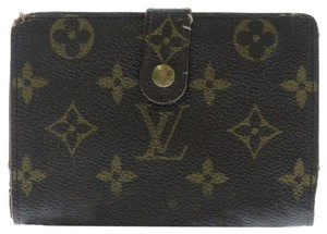 Louis Vuitton 100% Authentic Louis Vuitton Monogram Porte Feuille Vie French Kisslock Wallet