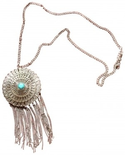 Urban Outfitters Turquoise and Silver necklace