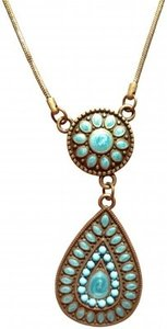 Urban Outfitters Turquoise Necklace