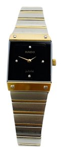 Rado RADO Vintage Tungsten and 18K Gold Ladies Jubile Diamond Watch