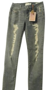 YOUNG & FADED Skinny Jeans-Distressed