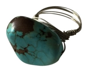 Other Turquoise rock wire ring