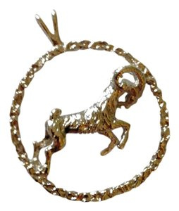 Sterling Silver Aries Charm/Pendant for necklance (1