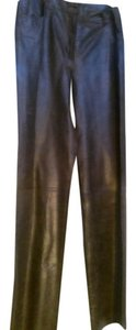 Philosophy di Alberta Ferretti Straight Pants Brown green