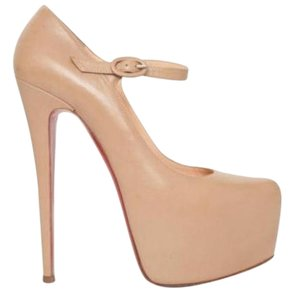 bc19a5944c4 Christian Louboutin Nude Women Leather Lady Daf 160 Pump 7-37 ...