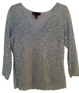 INC International Concepts Lace 3/4 Length Sleeves Tunic