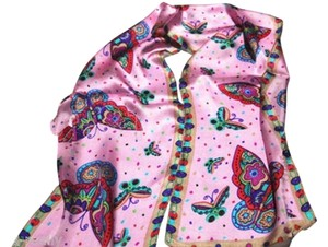 Other 100% Silk Butterfly Scarf Free Shipping