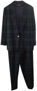 Giorgio Sant'Angelo Giorgio Sant'Angelo Black Watch Plaid PantsSuit