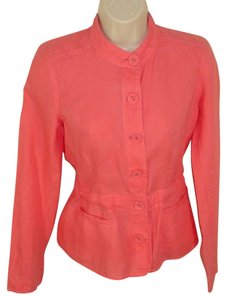 Eileen Fisher punch pink Jacket