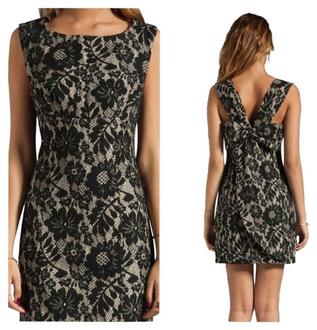 Preload https://item4.tradesy.com/images/tracy-reese-purpleblack-bow-shift-above-knee-cocktail-dress-size-12-l-1472733-0-0.jpg?width=400&height=650