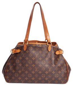 Louis Vuitton Leather M51154 Batignolles Tote in Monogram