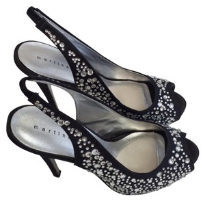 Martinez Valero Sandals Black ,crystal Formal