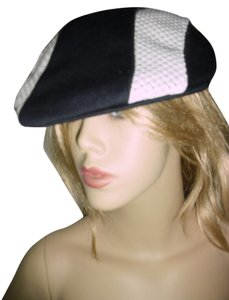 fashionista Greek fisherman's hat, unique black & white Mykonos hat