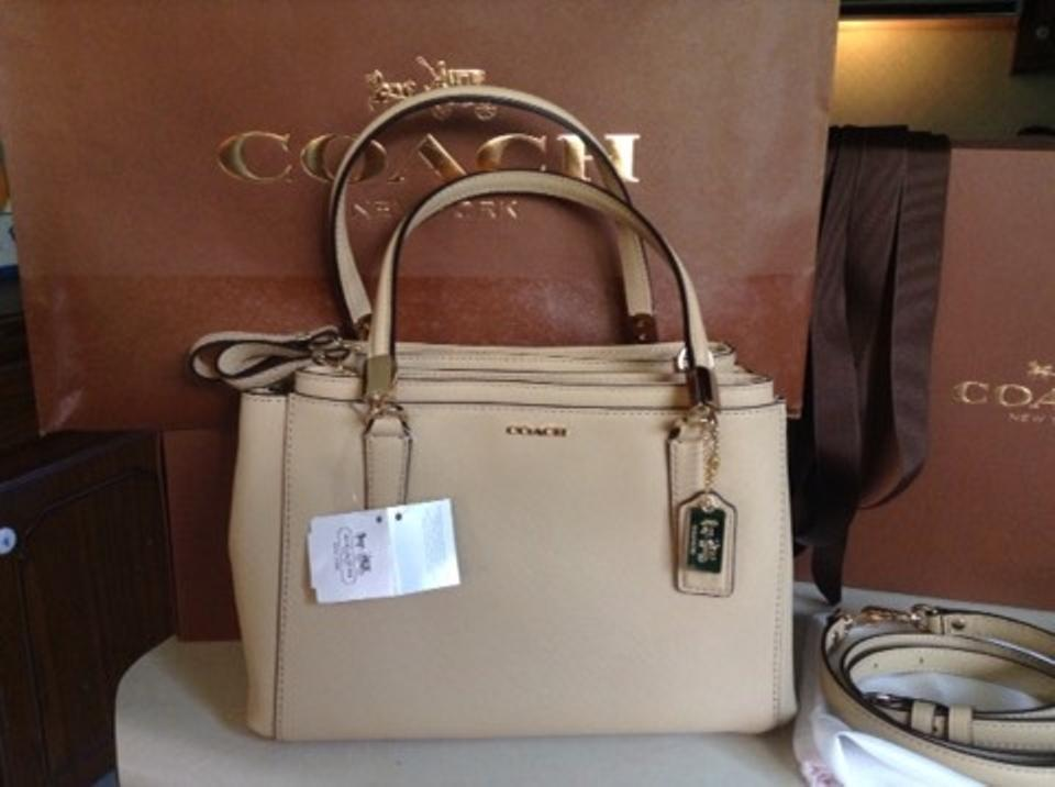 4e9f2b82a8a29 Coach Christie 30402 Madison Mini Carryall Shoulderbag In Light Gold ...