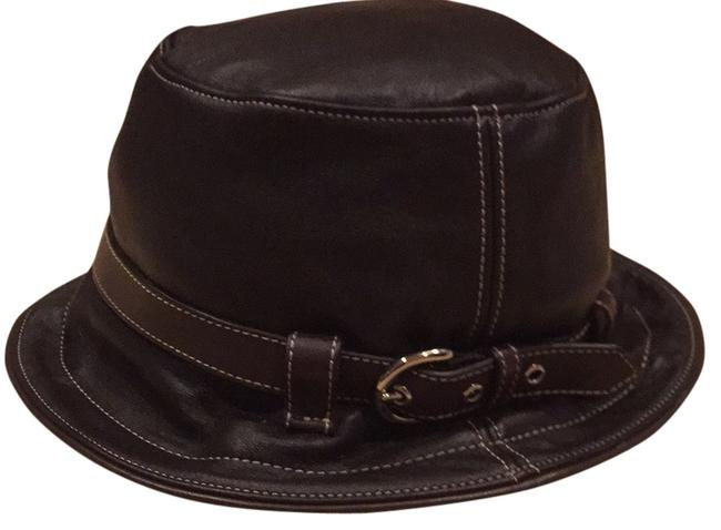 Item - Brown Leather Hat