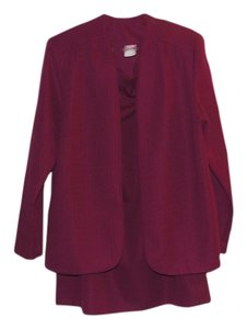 Graff Californiawear 2-Piece Maroon Skirt Suit