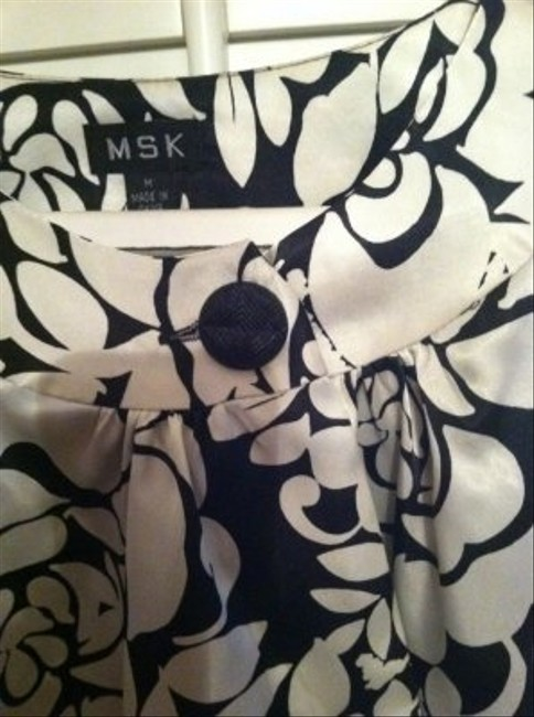 MSK Top Black and White