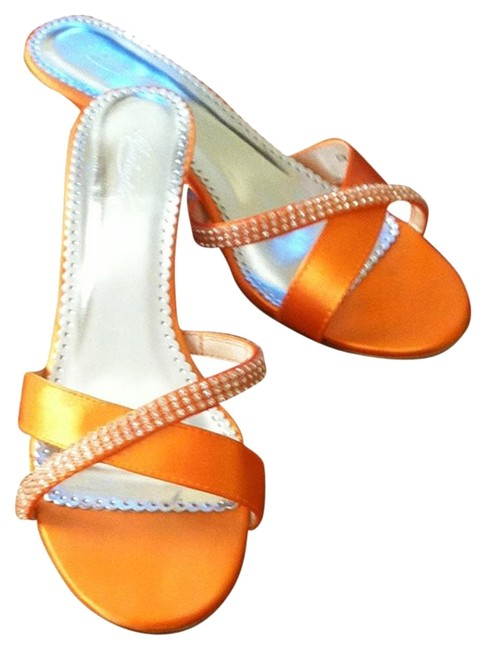 Item - Tangerine David's Bridal Sandals Size US 9.5 Regular (M, B)