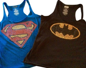 DC Comics Top black and blue