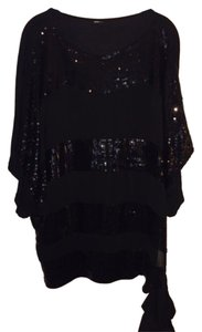 Other Sequin Top Black