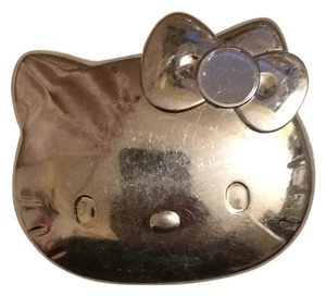 Hello Kitty Silver Hello Kitty Compact Mirror