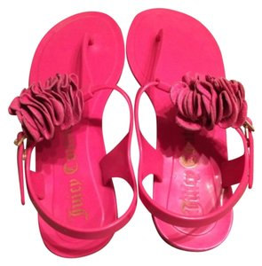 Juicy Couture Hot pink Sandals