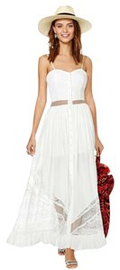 White Maxi Dress by Jarlo