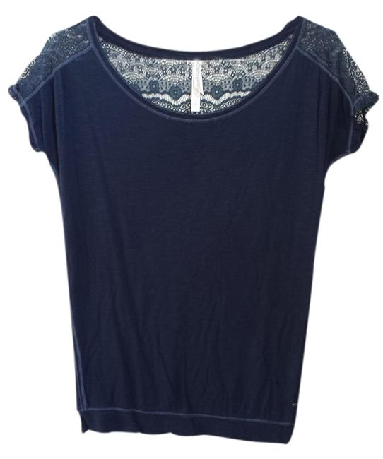 Preload https://item4.tradesy.com/images/aeropostale-navy-blue-lace-back-tee-shirt-size-4-s-1473173-0-0.jpg?width=400&height=650