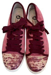 Lanvin Sneaker Red Coral pink Athletic